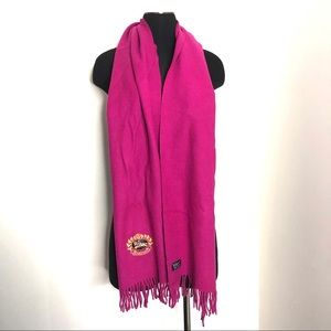 Authentic Burberry Plain Lambswool Wrap Scarf